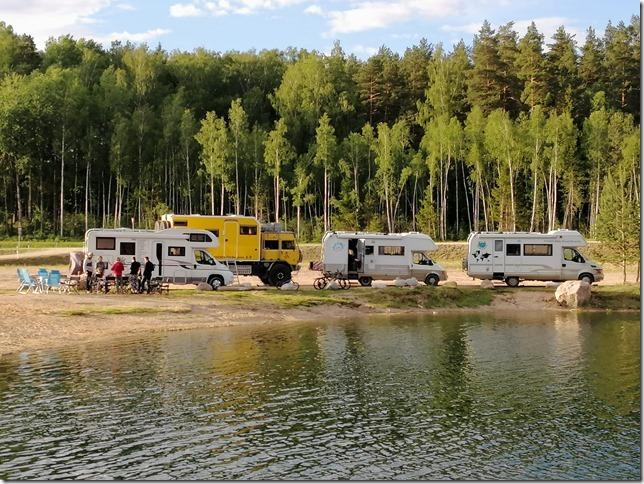 Lac Ikskile entre voyageurs (31)