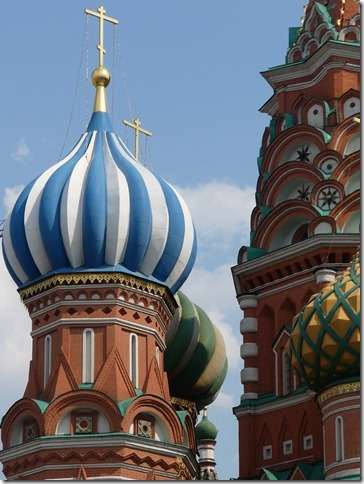 Moscou - Place rouge -Cathédrale St Basile (28)
