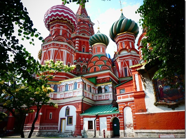 Moscou - Place rouge -Cathédrale St Basile (39)
