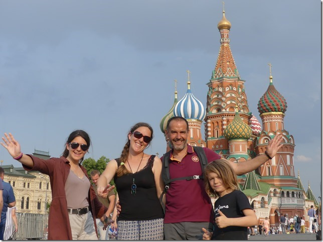 Moscou - Place rouge -Cathédrale St Basile (8)