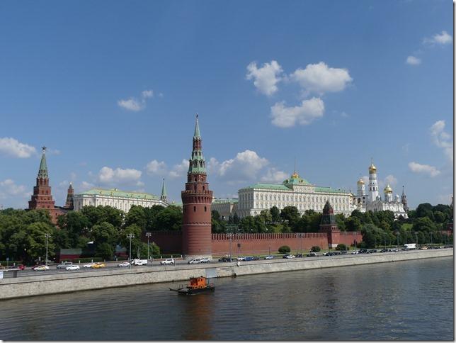 Moscou- vue sur le kremlin (1)