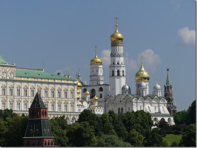 Moscou- vue sur le kremlin (3)