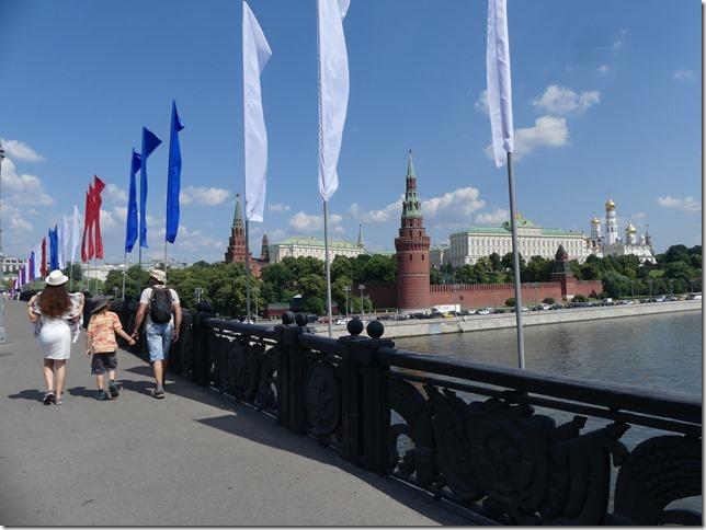 Moscou- vue sur le kremlin (7)