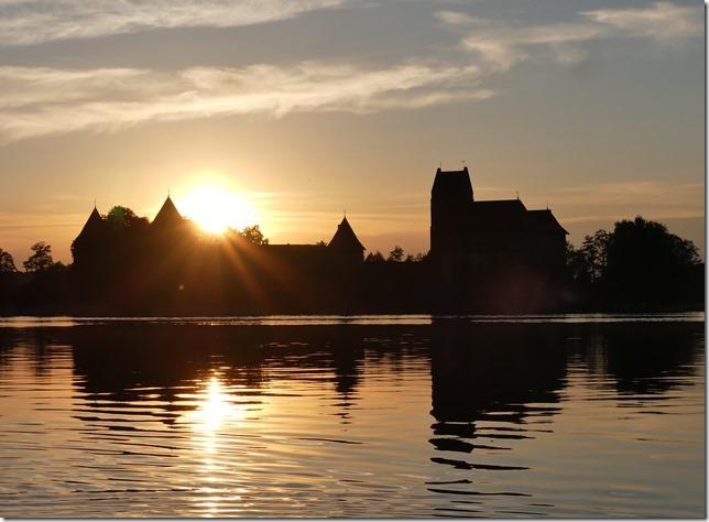 Sur le lac de Trakai (12)
