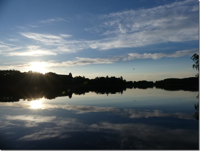 Sur le lac de Trakai (2)