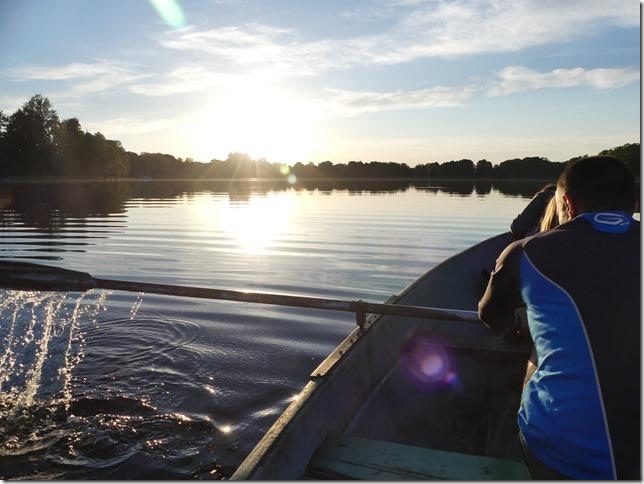 Sur le lac de Trakai (7)