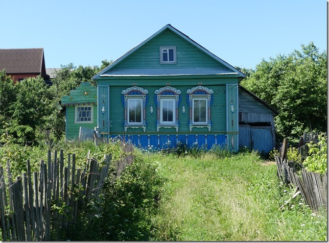 Anneau d'or - Pereslavl Zalesski- maisons russes (25)