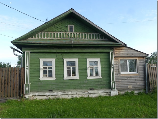 Anneau d'or - Pereslavl Zalesski- maisons russes (3)