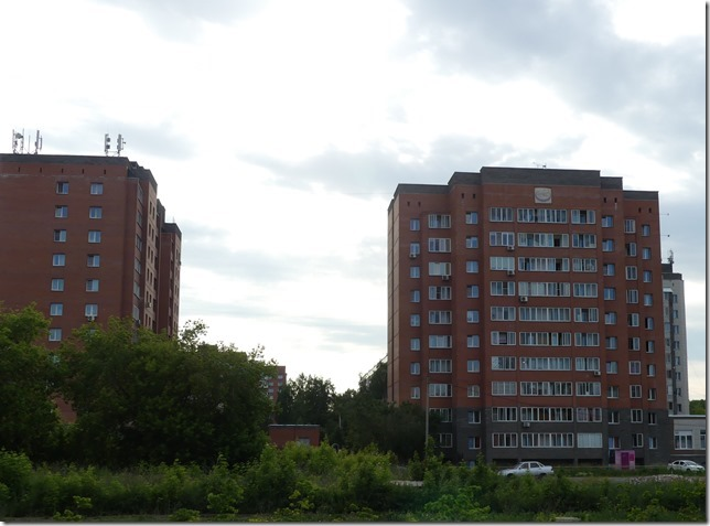 Novossibirsk - immeubles russes (3)
