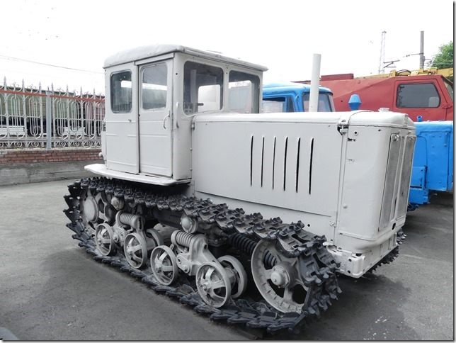 Novossibirsk - musée du train