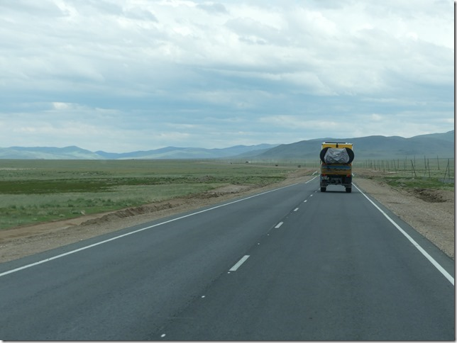 Sur la route - Altaï - dernière ligne droite vers la frontière (7)