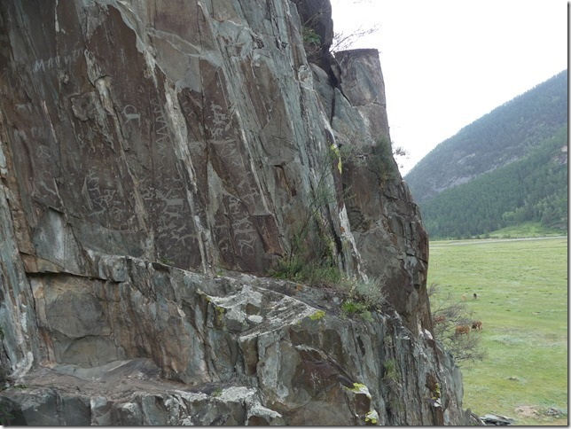 Sur la route - Altaï - pétroglyphes (12)