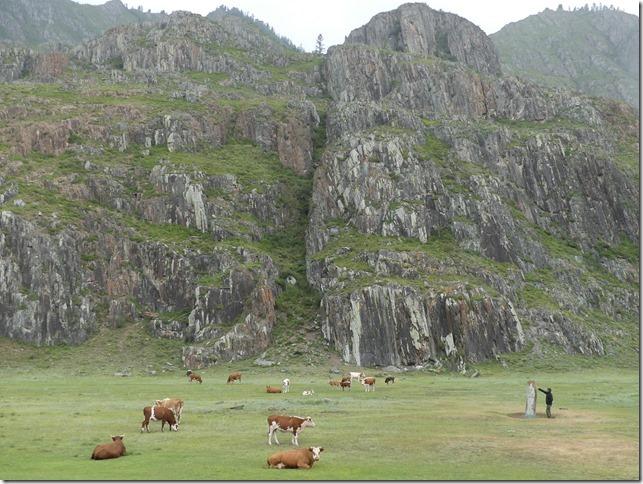 Sur la route - Altaï - pétroglyphes (3)