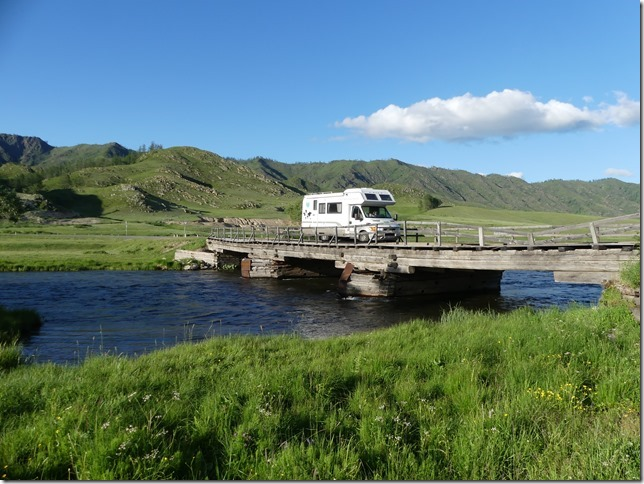 Sur la route - bivouac Altaï (1)