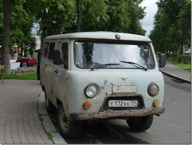 Sur la route - véhicules russes (1)