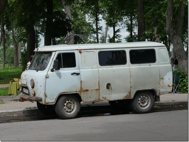 Sur la route - véhicules russes (2)