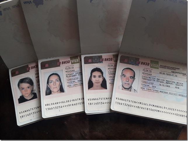 Visas russes