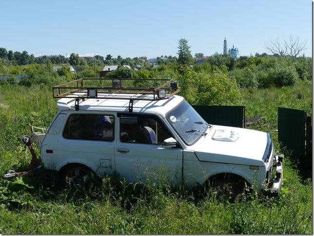 Yelabuga - voitures russes