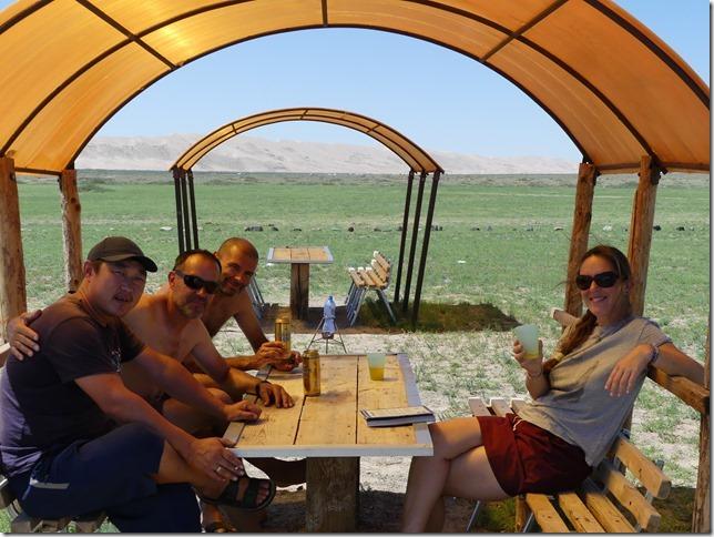 Désert du Gobi - bivouac dunes de Khongoryn Els (22)