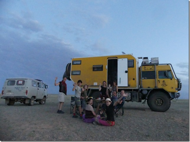 Désert du Gobi - bivouac falaises de feu Bayanzag (11)