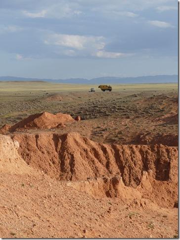 Désert du Gobi - falaises de feu Bayanzag (23)
