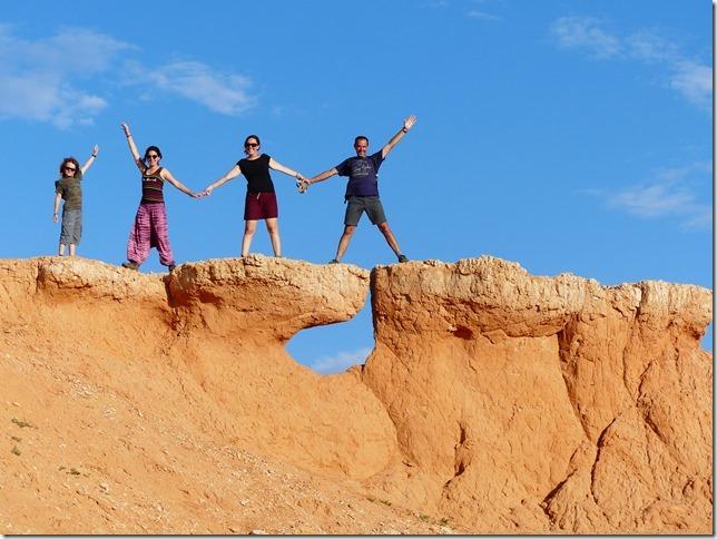 Désert du Gobi - falaises de feu Bayanzag (26)
