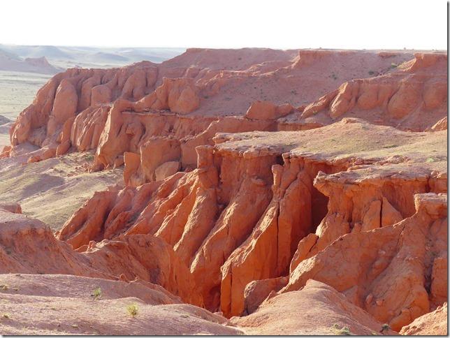 Désert du Gobi - falaises de feu Bayanzag (35)