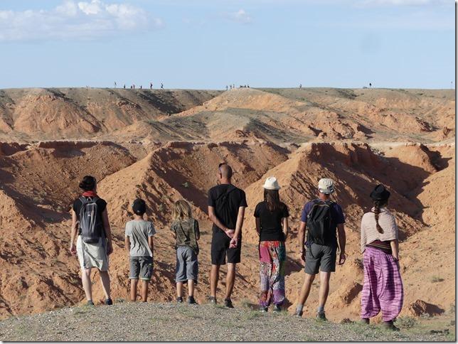 Désert du Gobi - falaises de feu Bayanzag (3)