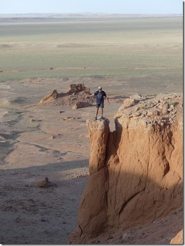 Désert du Gobi - falaises de feu Bayanzag (43)