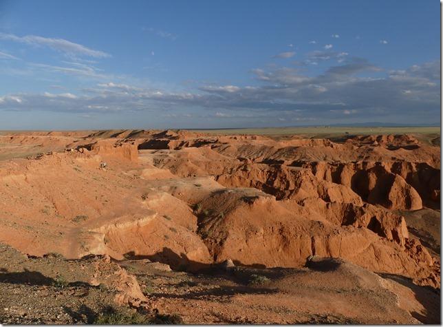 Désert du Gobi - falaises de feu Bayanzag (49)