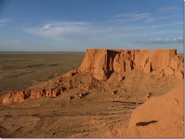 Désert du Gobi - falaises de feu Bayanzag (54)