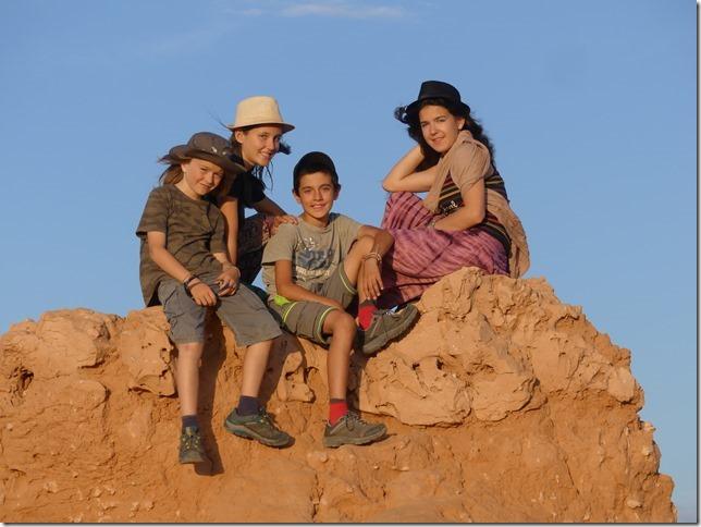 Désert du Gobi - falaises de feu Bayanzag (67)
