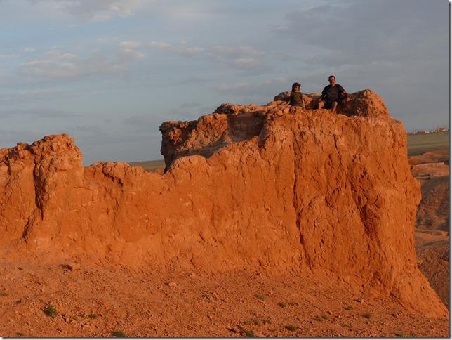 Désert du Gobi - falaises de feu Bayanzag (75)