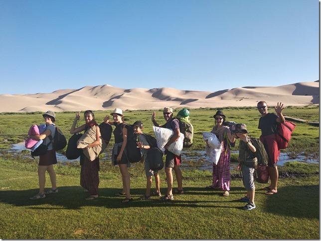 Désert du Gobi - Nuit dans les dunes de Khongoryn Els (1)