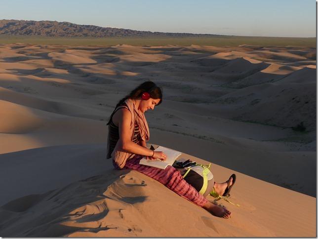 Désert du Gobi - Nuit dans les dunes de Khongoryn Els (26)