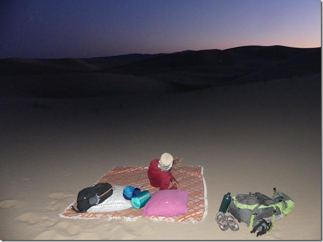 Désert du Gobi - Nuit dans les dunes de Khongoryn Els (45)