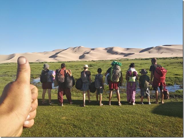 Désert du Gobi - Nuit dans les dunes de Khongoryn Els (4)