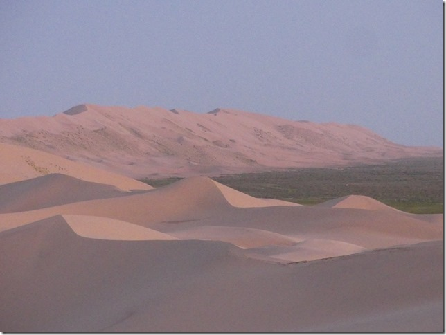 Désert du Gobi - Nuit dans les dunes de Khongoryn Els (61)