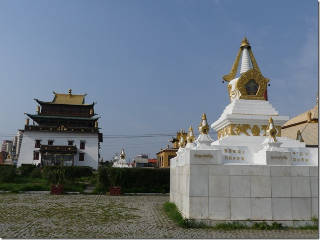 Oulan Bator - Monastère de Gandan (8)