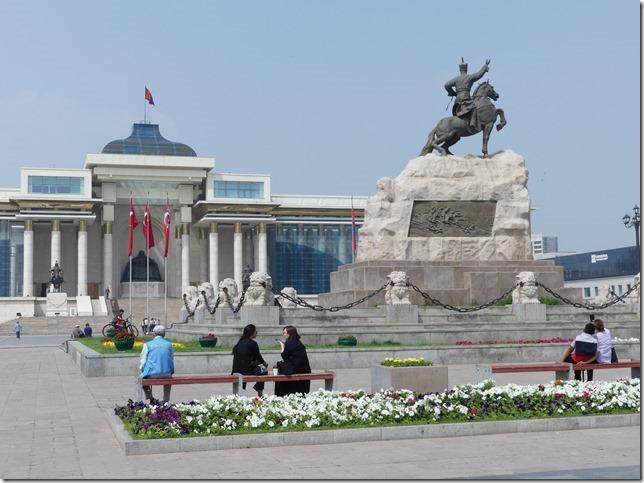 Oulan Bator - place Gengis Khan (23)