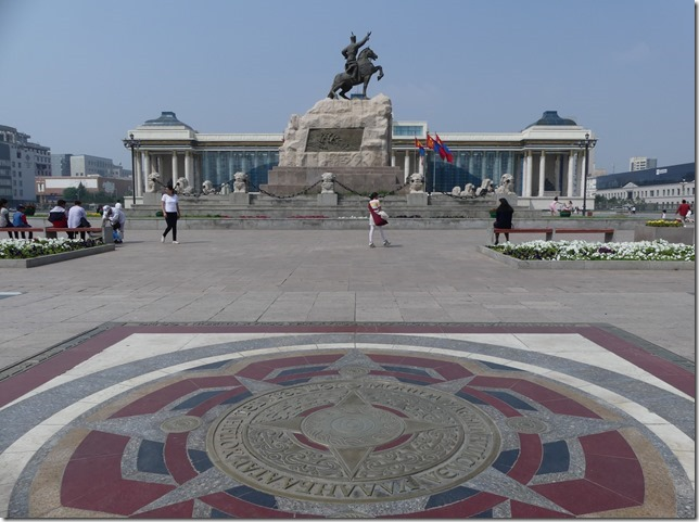 Oulan Bator - place Gengis Khan (24)