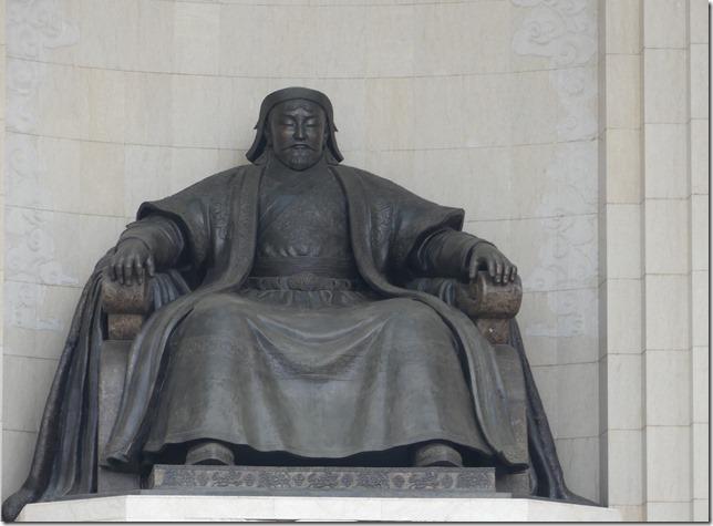 Oulan Bator - place Gengis Khan (6)