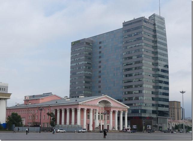 Oulan Bator - place Gengis Khan