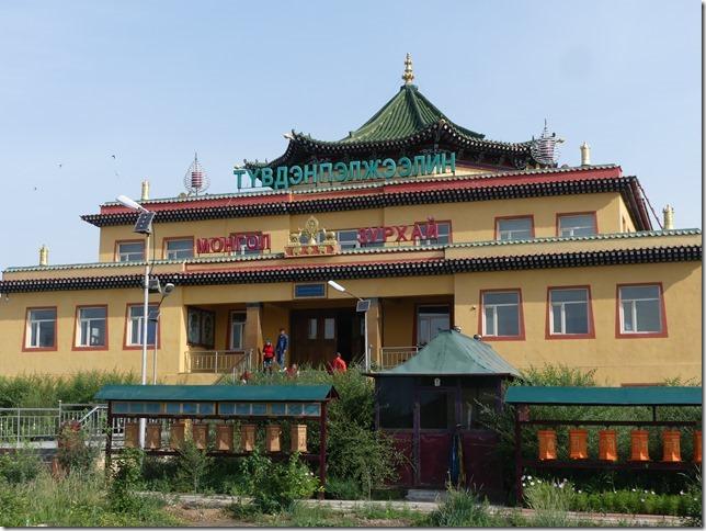 Parking temple pour départ Gobi (9)