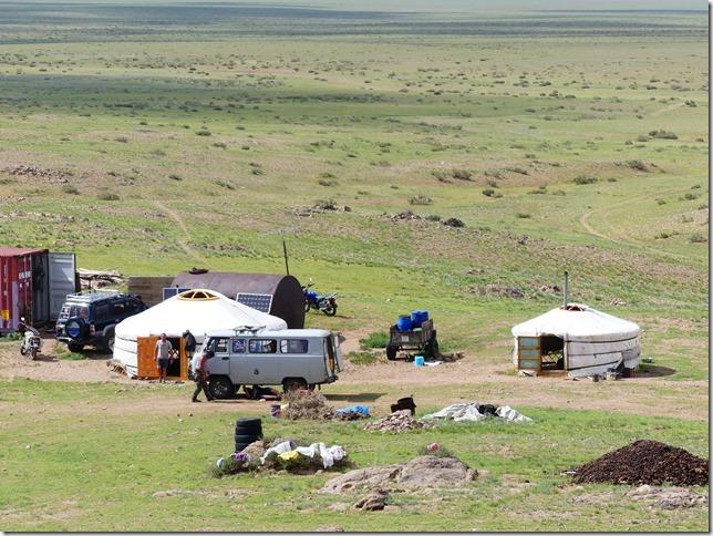 Sur la route du Gobi - chez les éleveurs nomades (199)