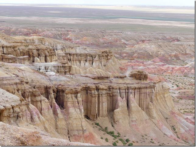 Sur la route du Gobi - falaises de Tsagaan suvarga  (3)