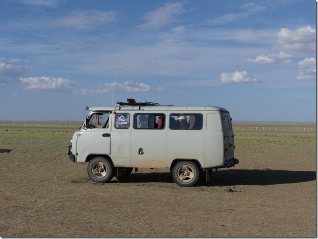 Sur la route du Gobi