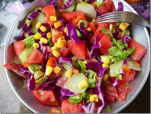 Vie quotidienne- Enfin des légumes !