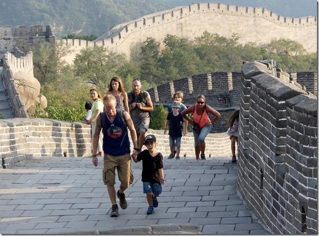 Badaling - La grande muraille (33)