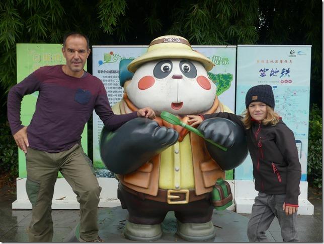 Chengdu - réserve de pandas (123)